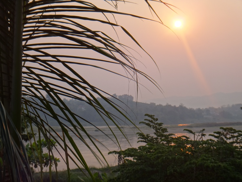 Sunrise over the Mekong