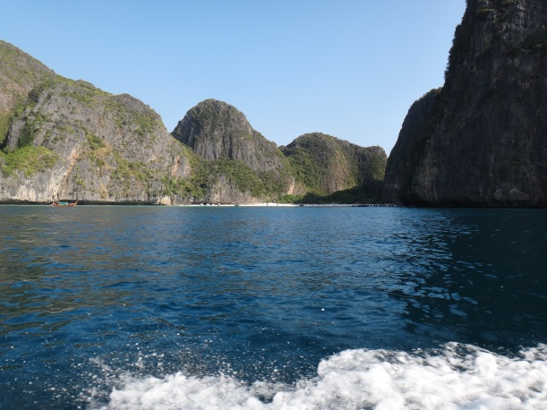 Entering Maya Bay, Thailand