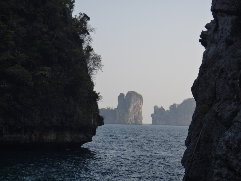 View from Ko Phi Phi Don, Thailand