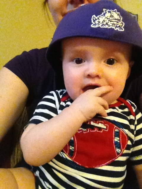 Our Godson Rooting for TCU