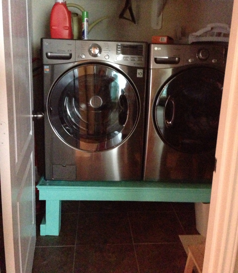 Tiny Laundry Room
